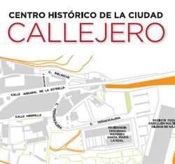 Callejero Centro histórico de la ciudad