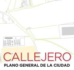 Callejero Plano general de la ciudad