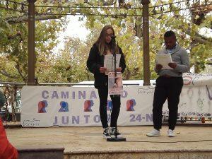 El IES Esteban Manuel de Villegas contra la violencia de género